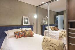 Ana Mendes Arquitetura의  침실