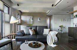 客廳:  客廳 by 樸十設計有限公司 SIMPURE Design