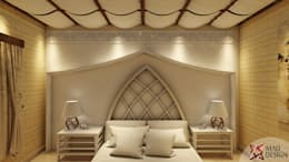 Project Guest House @HauzKhasVillage by MAD DESIGN: colonial Bedroom by MAD DESIGN