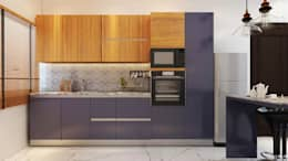 RESIDENCE SINGLE FAMILY PROJECT BY MAD DESIGN: eclectic Kitchen by MAD DESIGN