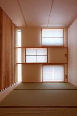 BLACK BOX: 株式会社 ATELIER O2が手掛けた和室です。