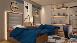 : minimalistic Bedroom by MAD DESIGN