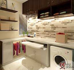 5BHK PROJECT @PRATEEK STYLOME BY MAD DESIGN: minimalistic Bathroom by MAD DESIGN