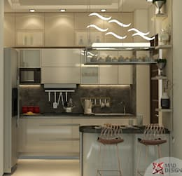 : minimalistic Kitchen by MAD DESIGN