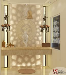 5BHK PROJECT @PRATEEK STYLOME BY MAD DESIGN: minimalistic Conservatory by MAD DESIGN