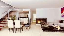Sala - Comedor: Salas / recibidores de estilo moderno por EPG  Studio