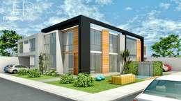 Fachada Interior: Condominios de estilo  por EPG  Studio