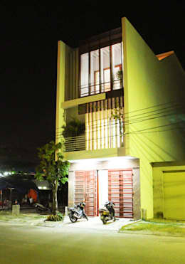 Thiết Kế Nhà Ống 3 Tầng Hướng Nội, Chan Hòa Với Thiên Nhiên:  Nhà gia đình by Công ty TNHH Xây Dựng TM – DV Song Phát