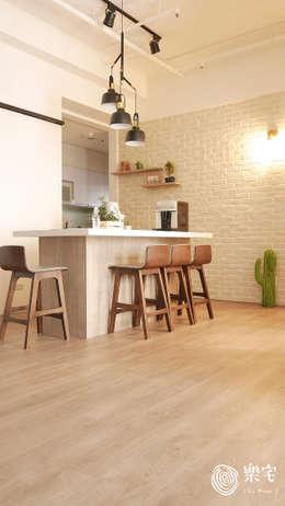 .:  餐廳 by 樂宅設計|系統傢俱