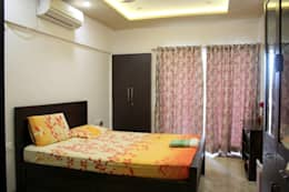 3BHK at Kalyani Nagar: modern Bedroom by Finch Architects