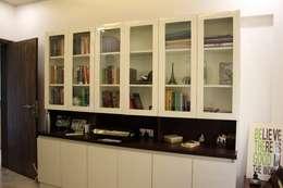 3BHK at Kalyani Nagar: modern Study/office by Finch Architects