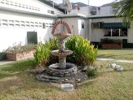 Pileta en Jardín: Jardines de estilo rural por Vida Verde