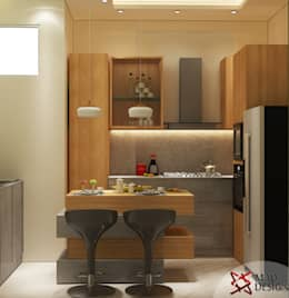 RESIDENTIAL PROJECT: eclectic Kitchen by MAD DESIGN