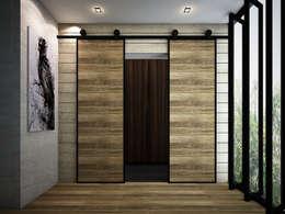Puertas de estilo  por Zero field design studio