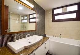 rest room: modern Bathroom by Team Kraft