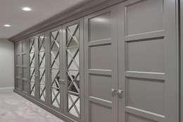 Allizzia tasarım – Ginme odası L dolap : klasik tarz tarz Giyinme Odası