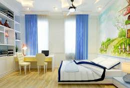 Những phòng ngủ mang dấu ấn riêng biệt:  Phòng ngủ by Công ty TNHH Xây Dựng TM – DV Song Phát