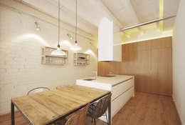 غرفة السفرة تنفيذ Abrils Studio