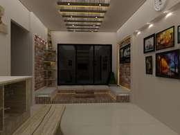 Rustic Living Room: rustic Living room by Creative Focus