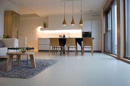 PU-Mono Gietvloer in Woning:  Vloeren door Motion Gietvloeren