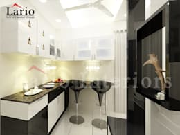 Crocker unit:  Kitchen by Lario interiors