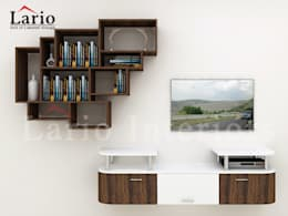 TV unit:  Living room by Lario interiors