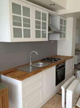 Feza Mutfak – Ahşap Mutfak Dolapları İmalatı:  tarz İç Dekorasyon