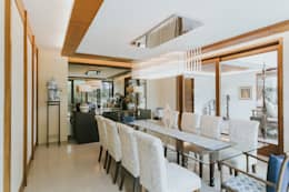 D House: eclectic Dining room by Living Innovations Design Unlimited, Inc.