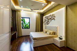 Bed room area : modern Bedroom by NVT Quality Build solution