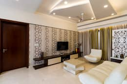Family area : modern Media room by NVT Quality Build solution