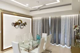 Wall paneling : modern Dining room by NVT Quality Build solution