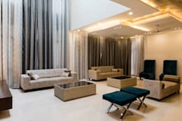 Prestige White meadows - 47: modern Living room by NVT Quality Build solution