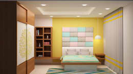 Kids room head side wall: asian Nursery/kid's room by NVT Quality Build solution