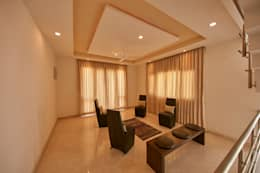 Family area : modern Living room by NVT Quality Build solution