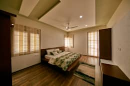 Bedroom: modern Bedroom by NVT Quality Build solution