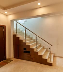 Under stairs unit :  Stairs by NVT Quality Build solution