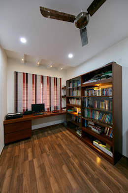Library and study  : modern Study/office by NVT Quality Build solution