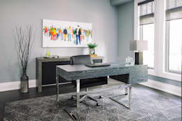 Modern Home Office: modern Study/office by Frahm Interiors