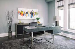 مكتب عمل أو دراسة تنفيذ Frahm Interiors