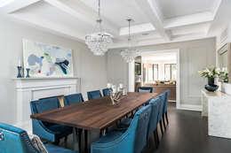 غرفة السفرة تنفيذ Frahm Interiors