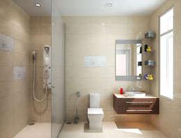 浴室 by Công ty TNHH Xây Dựng TM DV Song Phát