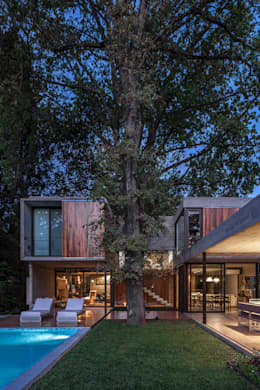 Casa Aranzazu: Casas unifamiliares de estilo  por Besonías Almeida arquitectos