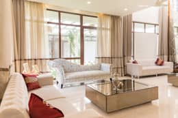 Luxury living room : modern Living room by NVT Quality Build solution