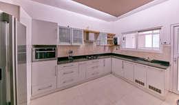Customized Kitchen : modern Kitchen by NVT Quality Build solution