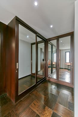 Wardrobe and dresser : modern Bedroom by NVT Quality Build solution