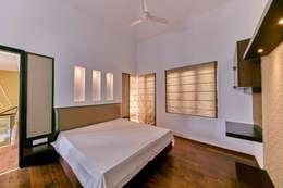 Bedroom : modern Bedroom by NVT Quality Build solution