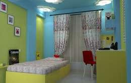 Shriyans Apartment Pune - Mr Ashish: modern Nursery/kid's room by DECOR DREAMS