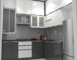 Shriyans Apartment Pune - Mr Ashish: modern Kitchen by DECOR DREAMS