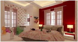 Amanora Park Pune - Pent House: modern Nursery/kid's room by DECOR DREAMS