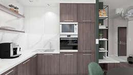 廚房 by SO INTERIORS ARCHITEKTURA WNĘTRZ